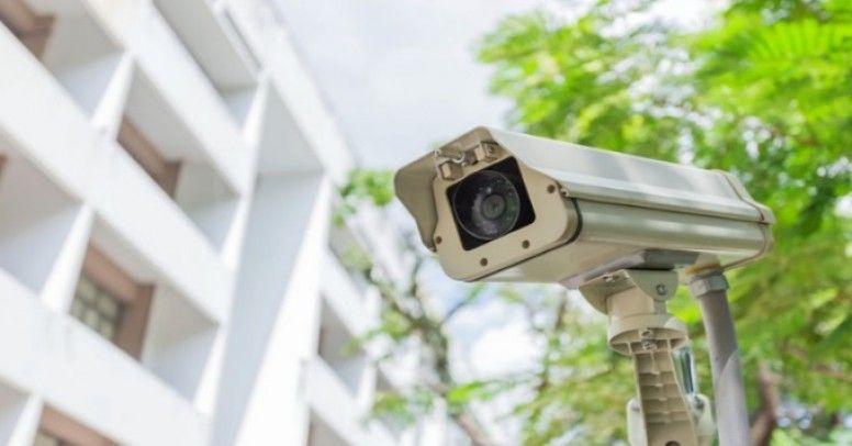 Security Camera in Installation Laguna Beach